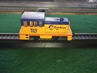 HO Chessie System/B&O Plymouth Type Switcher #1967 Lighted Lubed Tested Running
