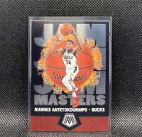 Giannis Antetokounmpo Jam Masters Mosaic 2020 Panini #19 Milwaukee Bucks