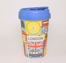 London Sights Reusable Eco-Friendly Bamboo Travel Coffee Cup 400ml by Chic Mic