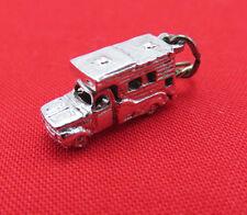 Vintage GAJ Sterling Silver Bracelet Charm Camper Truck Trailer Pendant 922g
