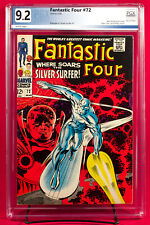 FANTASTIC FOUR #72 PGX 9.2 NM- Unpressed Uncleaned SILVER SURFER +CGC!!!