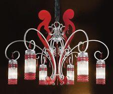 Lampadari Plafoniere Rosse : Lampadari rossi moderni in vendita ebay