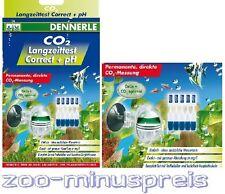 Co 2 Langzeit Test von Dennerle, Correct + pH, CO2 und pH - Test CO2 Test