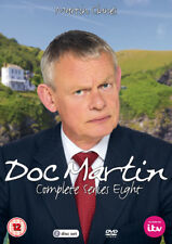 Doc Martin Series Season 8 Eight Eighth 2017 ITV Genuine UK R2 DVD Fast Post