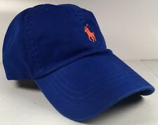 mens ralph lauren polo chino sports cap hat adjustable one size nwt