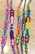 Friendship Bracelets Woven Wholesale 6 Pieces Unisex Wristband Fair Trade Surfer