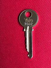 Yale 3502 Elevator Fire Key