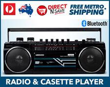 Retro Radio Cassette Player Bluetooth Portable AM FM Radio USB SD Record MEDION