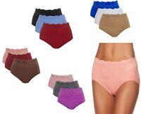 Rhonda Shear 3-Pack Seamless Lace Overlay Brief 492653-J Mystery