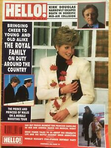 HELLO! MAGAZINE - #141 - 23 FEBRUARY 1991 - PRINCE & PRINCESS OF WALES - DOUGLAS