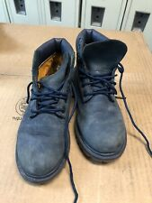 Timberland Premium 3783A Navy Blue Boots Boys Youth Toddler Size 12