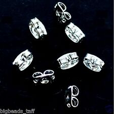 10 pairs metal butterfly earring back stoppers
