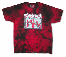 Slipknot Red Suits Black & Red Tie Dye T Shirt NEW. OFFICIAL