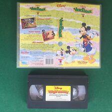 VHS Walt DISNEY - VIDEOPARADE Numero 11 (ITA 1° Ed 1993) HOME VIDEO VK 6011