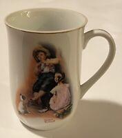 """The Music Maker"" Norman Rockwell 1981 Coffee Tea Mug Cup EUC"