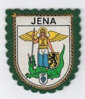 Lichtstadt Jena Wappen Patch Aufnäher  2 grösste Stadt in Thüringen
