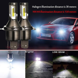 2Pcs H4 Car LED Headlight Headlamp 26000LM 6000K 110W Conversion Lamp Bulbs Beam