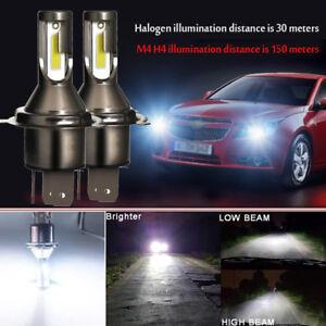2Pcs H4 Car LED Headlight Headlamp 26000LM 6000K 110W Conversion Lamp Bulbs Beam