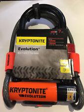 Kryptonite Evolution Mini 7 Dead Bolt D-Lock & 4 foot kryptoflex cable