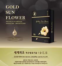 PAUL MEDI Korean Cosmetics Golden Sun Flower Premium Mask Pack 3 Pcs/US Seller