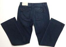 Ann Taylor Loft Women's Sz 29/8 Dark Wash Curvy Trouser Jeans
