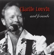 Charlie Louvin And Friends 2004 cd NEW! feat. Willie Nelson Waylon Jennings +++