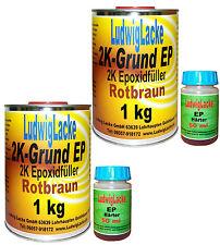 Epoxidfüller 2 x 1,05 kg TOP 2K  Rostschutz für Autolack Lackierer usw. Metallsc