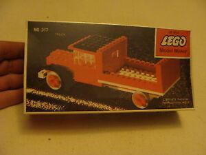 sealed 1964 LEGO MODEL MAKER TRUCK no. 317