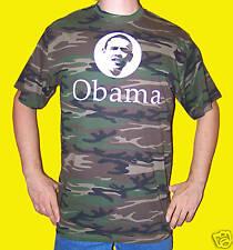 U.S.A.: TSHIRT BARACK OBAMA Camouflage USA PRESIDENT