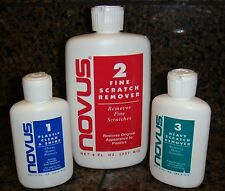 Novus #1, #2 & #3 value pack Polish/Cleaner Free US Priority Shipping