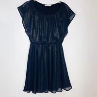 Lush Short Sleeve Dress M