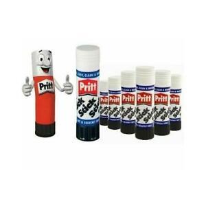 Genuine PRITT STICK Glue Washable Non Stick Toxic Free Home School Office Craft