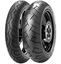 Coppia Gomme Moto Pirelli 120/70 ZR17 58W + 180/55 ZR17 73W DIABLO