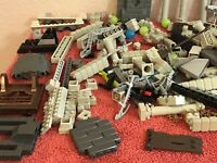 Mega Bloks Bricks Lot 2.10 lbs Pounds Of Blocks Assorted Blocks Of A Castle