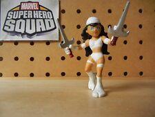 Marvel Super Hero Squad Variant ELEKTRA White Outfit - Battle for New York