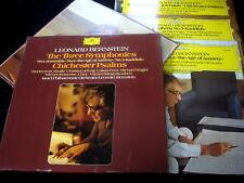 LEONARD BERNSTEIN/THE THREE SYMPHONIES/DG/3XLP/GERMAN PRESS/GL