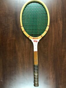 RARE Vintage Billie Jean King Personal King racquet racket