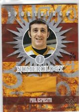 Phil Esposito 2009 Sportkings Series C, Numerology, Silver 2015 Sport Kings 1/4
