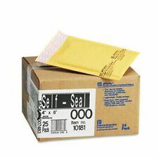 Sealed Air Jiffylite Self-Seal Mailer, #000, 4 x 8, 25 Mailers (Sel10181)
