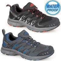 Mens NORTHWEST Leather Walking Hiking Waterproof Trainers Trekking Boots Shoes
