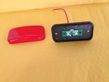 RED Camper Trailer RV Light 2 LED 2 x 4 surface mount Clearance marker