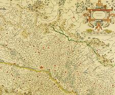 1630 BASSE ALSACE Strasbourg Bas-Rhin Sarrewerden Landau Haguenau Wissembourg