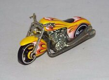 Hot Wheels 1 Loose Hall Of Fame Set Vehicle Scorchin' Scooter Yellow