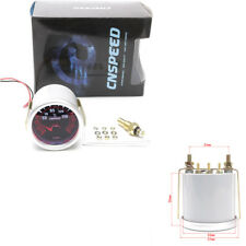 Kfz LED Turbo Öltemperaturanzeige Rauch Tönung Objektiv rot beleuchtete Nadel