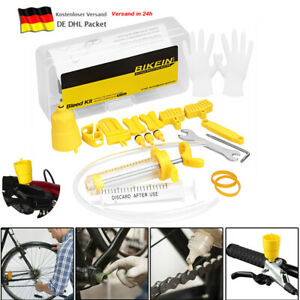 Fahrrad Entlüftungskit Bleed Öl Kit Set für Shimano Tektro MTB Scheibenbremsen