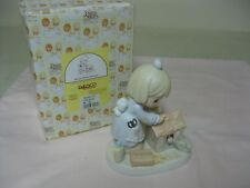 COLLECTIBLE 2000 PRECIOUS MOMENTS HOME-MADE OF LOVE FIGURE