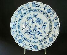 "Meissen Blue Onion ~ 9 3/8"" Dinner Plate ~ Sword Mark ~ First Quality-Flea Bite"