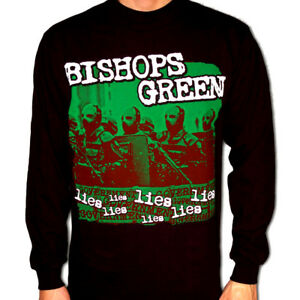 BISHOPS GREEN Longsleeve Shirt S-XL Cock Sparrer/Booze&Glory/Lion's Law/Blitz