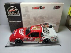 1986 Mark Martin #2 Miller Ford Thunderbird 1:24 NASCAR Action Die-Cast MIB