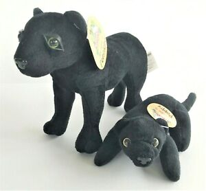 Deagostini My Animal Kingdom Panther Set Penelope and Poppy With Tags
